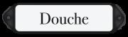 Deurbordje emaille Douche