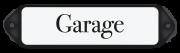 Deurbordje emaille Garage