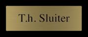 Messing naamplaatje gegraveerd 6 x 2 cm