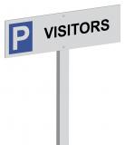 Parkeerpaal Visitors Aluminium