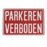 Parkeren verboden