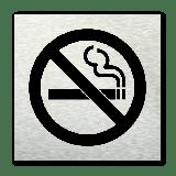 Pictogram vierkant Verboden te roken