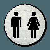 Pictogram rond Toiletten