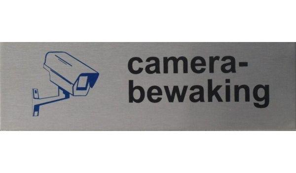 RVS pictogram Camera bewaking