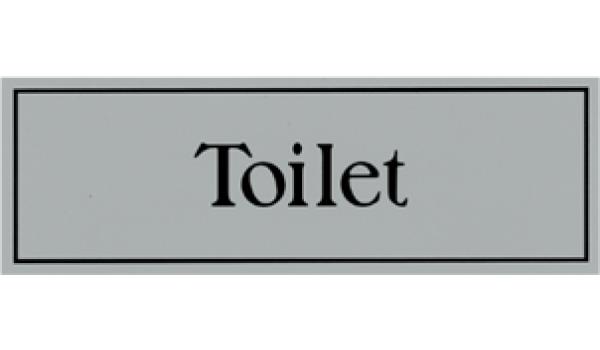 Kunststof deurbord toilet