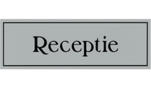 Kunststof deurbord receptie