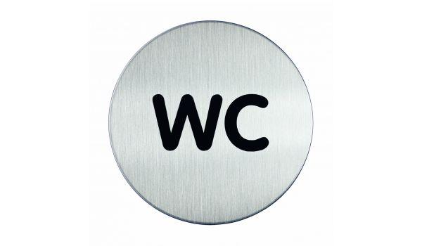 RVS pictogram WC