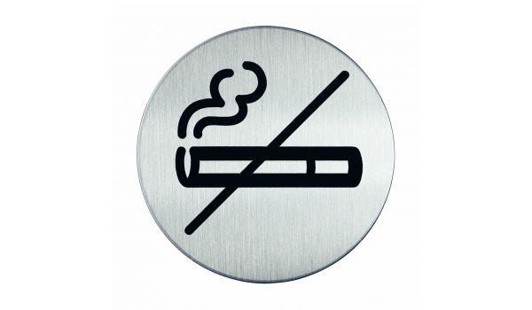 RVS pictogram roken verboden