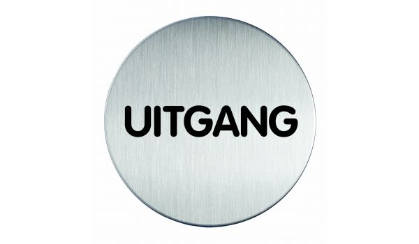 RVS pictogram uitgang