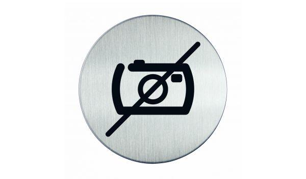 RVS pictogram fotograferen verboden