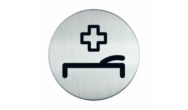 RVS pictogram EHBO / ziekenhuis