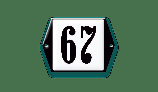 Klassiek huisnummer