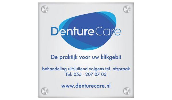 Bedrijfsbord Acrylaat met logo