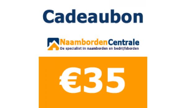 Cadeaubon 35 euro