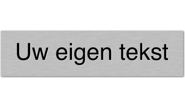 Deurbordje Eigen tekst