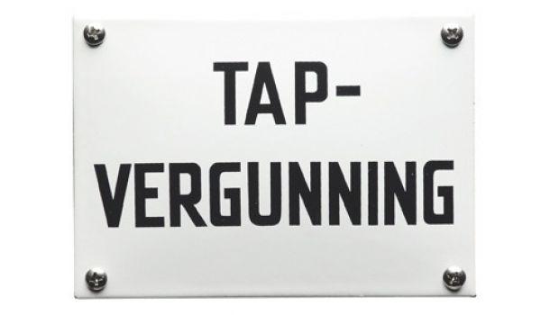 Horecabord Tapvergunning