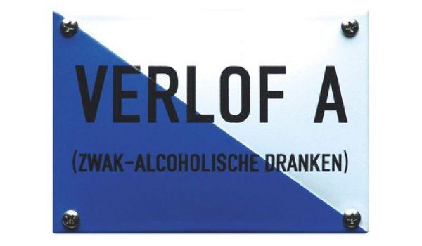Horecabord Verlof A