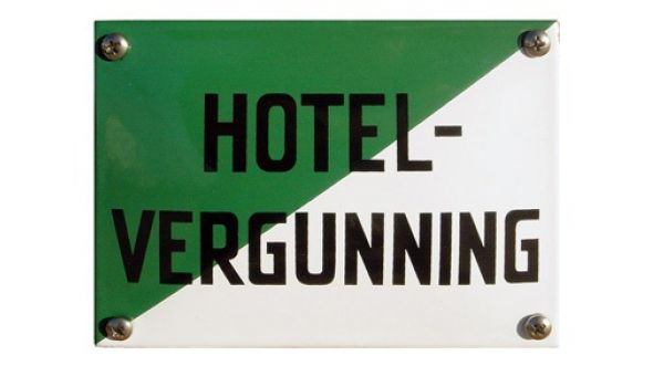 Horecabord Hotelvergunning