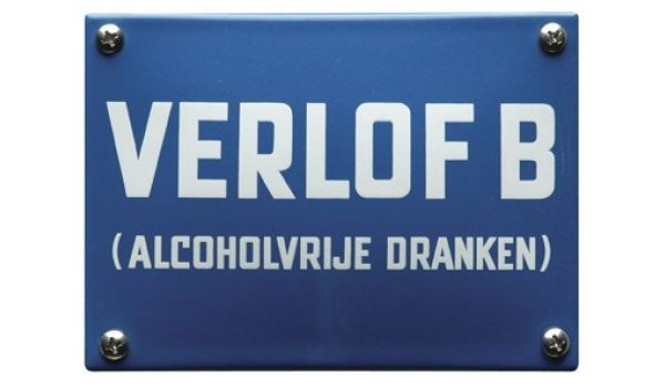 Horecabord Verlof B