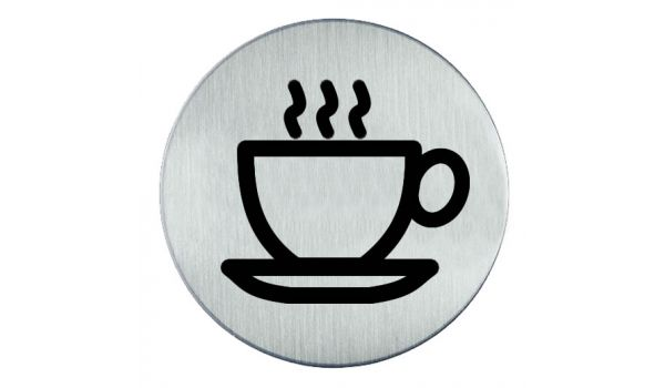 RVS pictogram koffie