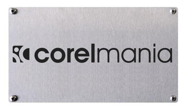 Bedrijfsbord rvs met logo