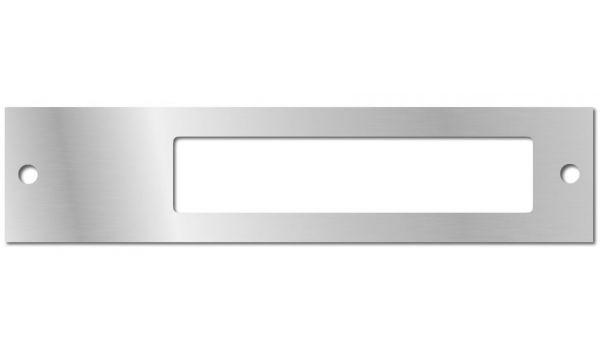 Naamplaathouder enkel Aluminium