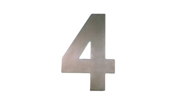 RVS huisnummer