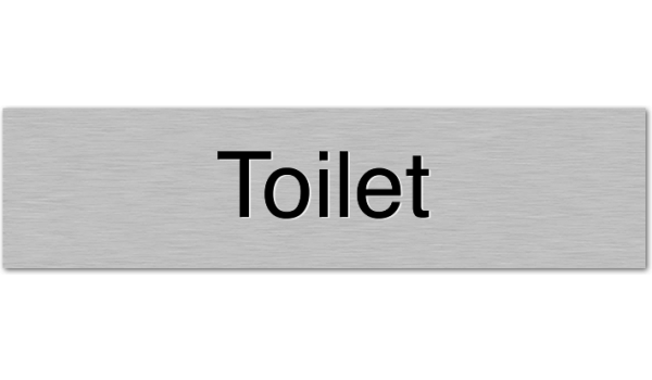 Deurbordje Toilet