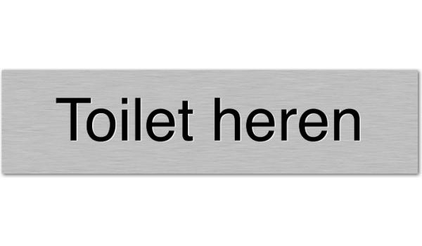 Deurbordje Toilet heren