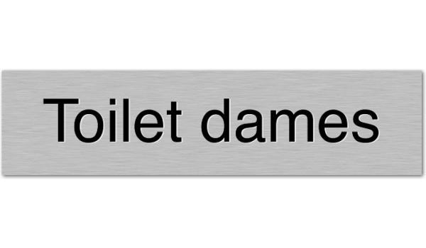 Deurbordje Toilet dames