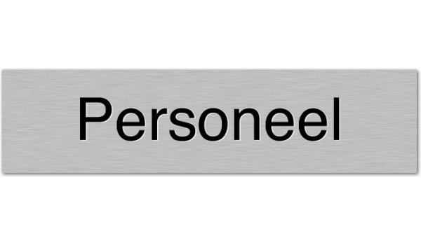 Deurbordje Personeel
