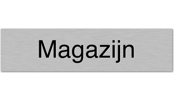 Deurbordje Magazijn