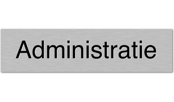 Deurbordje Administratie