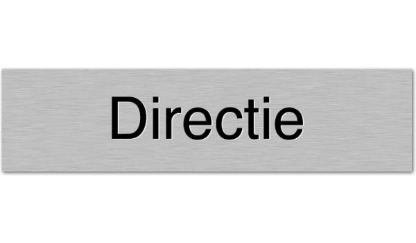 Deurbordje Directie