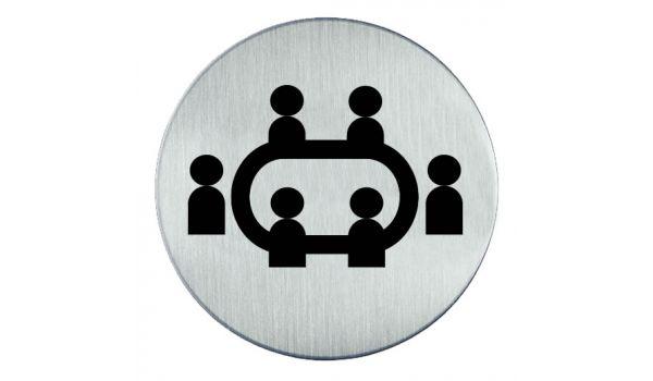 RVS pictogram vergadering