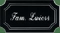 Kunststof naamplaatje zwart 11.5 x 6.5cm