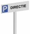 Parkeerpaal Directie Aluminium