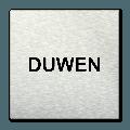 Pictogram vierkant Duwen
