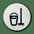 Basic pictogram Schoonmaak kast