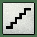 Pictogram vierkant Trap