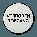Basic pictogram Verboden toegang